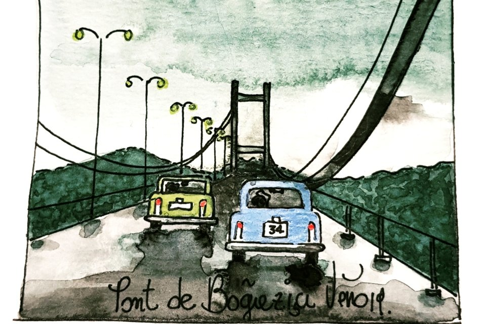 Atelier illustration d'un carnet de voyages