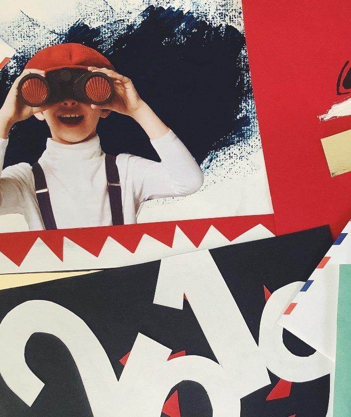 Atelier créer sa propre carte de voeux à Istanbul