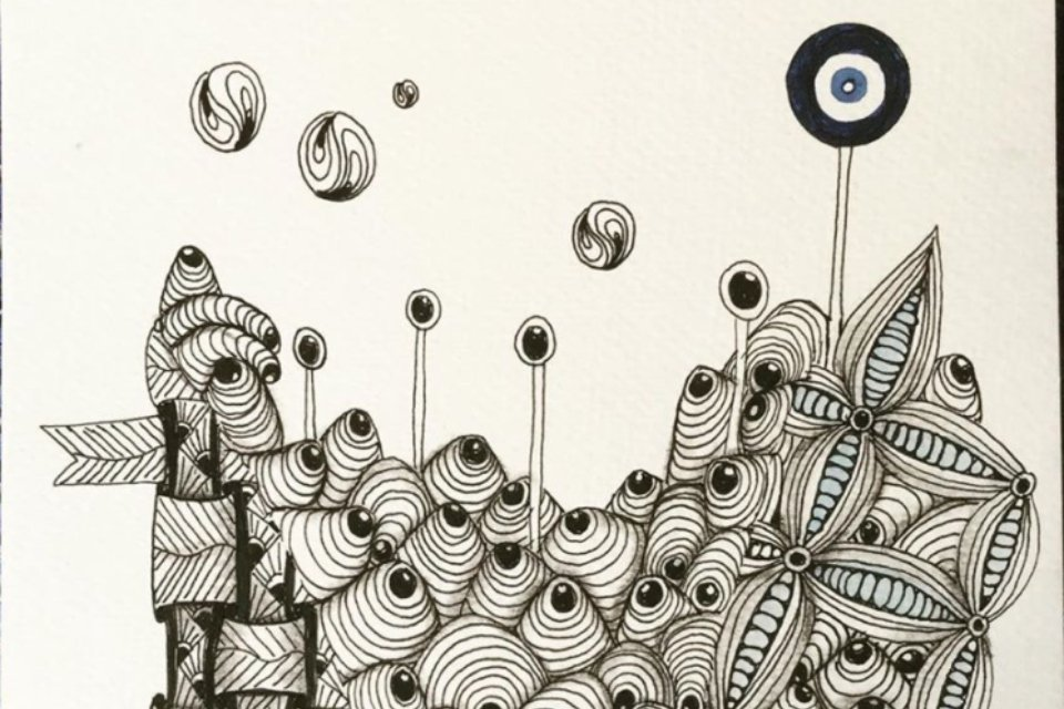 L'art de dessiner des zentangle