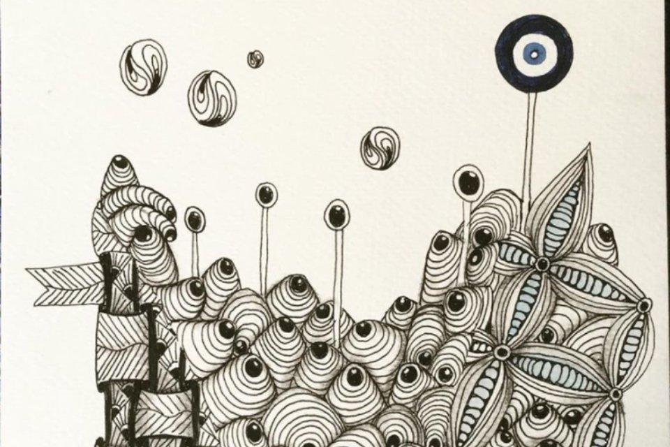 L'art de dessiner des zentangle
