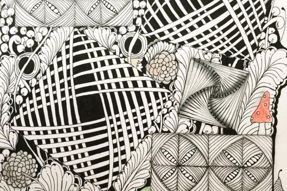 L'art du Zentangle Inspire Art - Moovandji activateurs de talents
