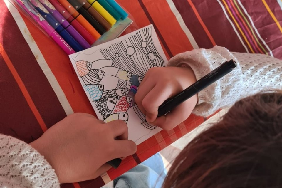 Apprendre à dessiner des carrés de Zentangle - Moovandji activateur de talents