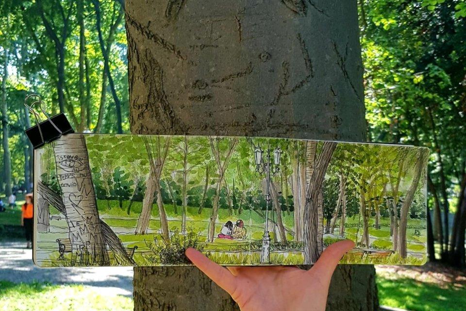 L'art d'illustrer à l'aquarelle - Triptyque dans la nature - Moovandji