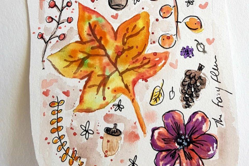 L'art d'illustrer le jardin d'automne de ses rêves - Moovandji