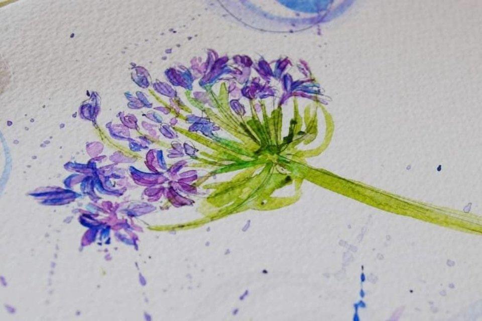 L'art d'illustrer le jardin de ses rêves - Fleur